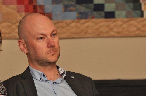 DIREKTE TALE: Tormod Andreassen slo fast at NHO ikkje blir nokon støttespelar for dei som trekkjer fram Riksveg 13 som ein del av den raskaste vegen mellom vest og aust.