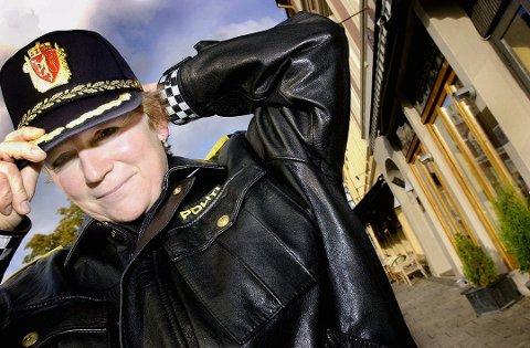 GÅR AV: Christine Fossen bytter jobb etter i underkant av fire år i jobben som politimester i Sør-Øst politidistrikt. Foto: Tore Sandberg