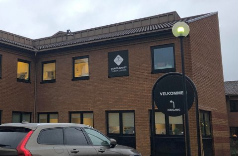 STENGT: Tannklinikken på Borgejordet er nå stengt etter at en tannlege som jobbet på stedet har testet positivt på korona.