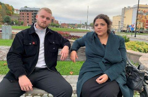 REAGERER: Mikael Backe og Mona Osman tror ikke folk har fått opp øynene for problemet.