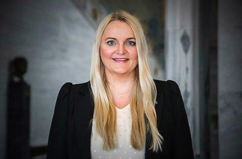 GLAD: Åslaug Sem-Jacobsen har positive nyheter om Tinnosbanen.