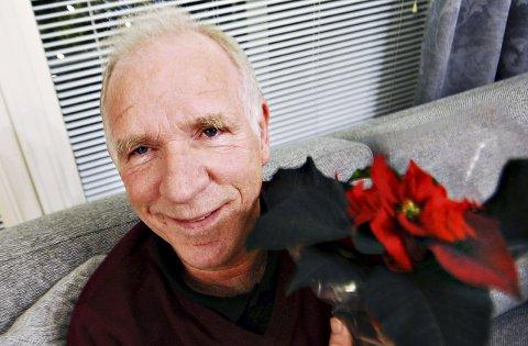 Godt likt: Gunnar Leren har jobbet i 40 år på Rensvik skole. Både elever og lærere setter stor pris på den musikalske inspektøren.