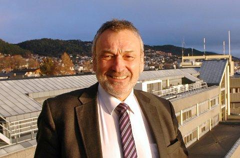 Fylkesmann Lodve Solholm i Møre og Romsdal.