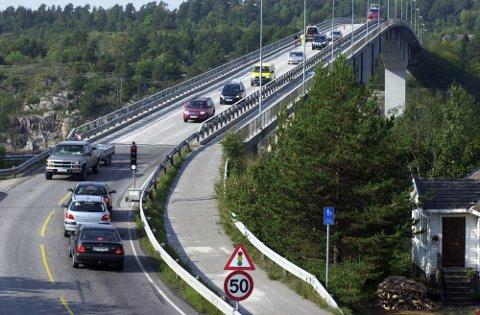 Det blir kolonnekjøring over Vrengenbrua mens Challenge Norway pågår.