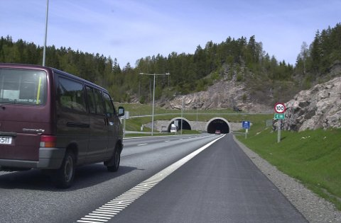 PÅ ISLAND: Tunnelløp her blir stengt for oppgradering natt til lørdag.