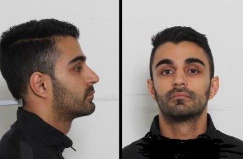 Politiet etterlyser Jaspinder Singh, 28 år, norsk statsborger, etter at en bil ble beskutt mens denne kjørte nordover på Østre Aker vei ved Haugenstua i Oslo søndag 19. august. Skuddene skal ha vært avfyrt fra en annen bil som kjørte parallelt med bilen som ble beskutt. Singh er siktet for skytingen