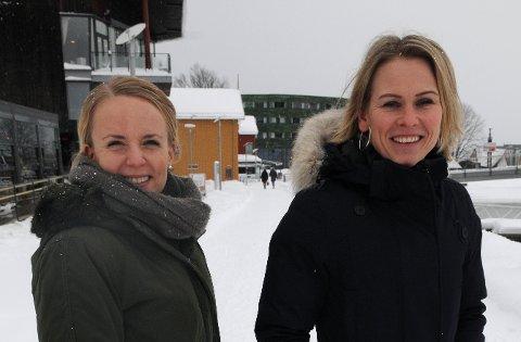 PENGERÅDET: Kamilla Elise Holt Utheim (til venstre) og Hanne Solli fra DNB.