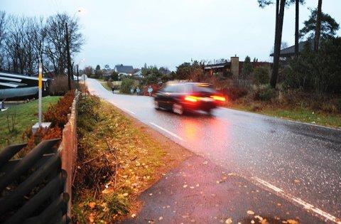 FOR FORT: Mange tråkket litt for fort på gasspedalen i Ulvikveien onsdag kveld. Bildet er fra 2010.