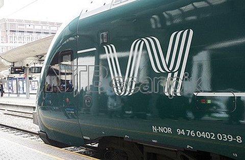 500 DAGLIGE BUSSAVNGANGER: Det skal 16 busser til for å erstatte et fullt tog i rush-tiden.