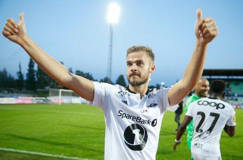 TILBAKE: Hólmar Örn Eyjólfsson hadde stor suksess i RBK-trøya i årene 2014-16. Nå vender islendingen tilbake.