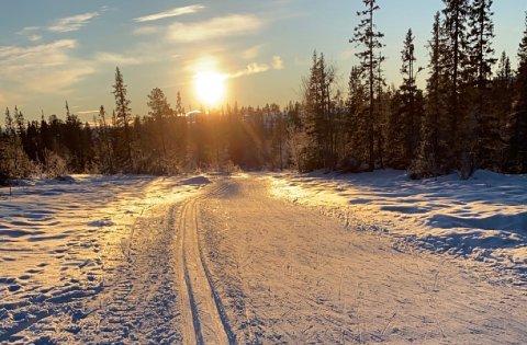 SKIFØRET HOLDER SEG: Det blir minusgrader og litt påfyll av snø kommende uke. Det lover meteorologen.