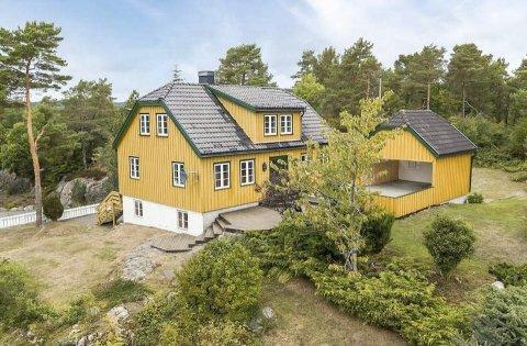 Nylig solgt: Holmesundveien 149 eies nå av Kristian Otnes fra Bærum. Foto: Hallvar Rimereit/Invisio