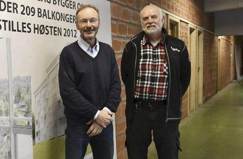 Ikke fornøyd: Jan Eldrup og Ole Jørgen Granerud fikk ingen respons fra politikerne da klagen ble behandlet tirsdag. Arkivfoto