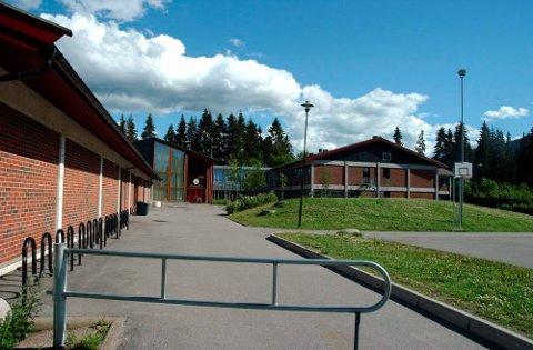 SKIFTES: Bygget fra 1983 ved Hakadal ungdomsskole skal få nye vinduer og dører. Det samme gjelder for det eldre bygget ved Sørli barneskole og dagsenteret ved Skytta bo- og behandlingssenter.