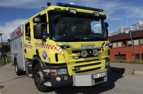 SLUKKETBÅL:Brannbil på Nittedal brannstasjon.(Arkivfoto)