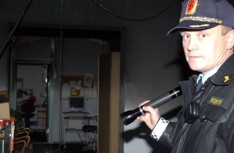 ANNO 2004: To år senere overtok Bjørn Bratteng som lensmann i Nittedal etter Oddbjørn Myhre, og den stillingen hadde han fram til for tre år siden.