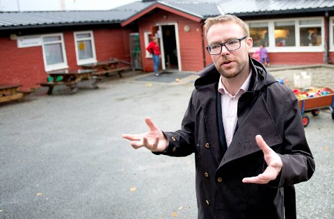 – Tallene fortelelr en ganske annen historie enn Vegvesenet gjør i øst/vest-utredningen, sier daglig leder i Hardangerviddatunnelene AS, Harald Victor Hove. ARKIVFOTO: SKJALG EKELAND