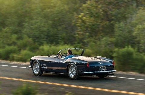 Bilen her er den 11. av 50 California Spidere med lang akselavstand som ble bygget.