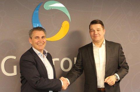 UTVIDER: GSGroup og Morten Berntsen har engasjert Anselm Brackert i arbeidet med å etablere det nye kontoret i Hamburg.