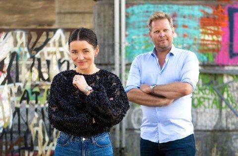 SATSER: Ole-Andreas Løvland startet Trippel-M i Tønsberg i 2011. Nå har selskapet ansatt Christina Parker som ny daglig leder.