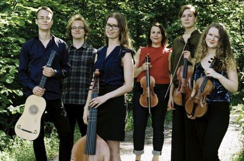 Kommer: Ensemble Hieronymus spiller i Nesodden kirke tidlig lørdag kveld. Pressefoto
