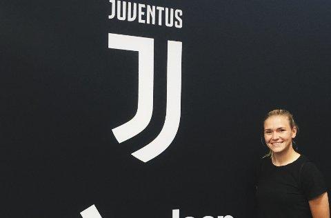 EN DRØM: Ingvild Isaksen er på plass i Italia, og i helgen ble hun matchvinner for Juventus. Arkivfoto
