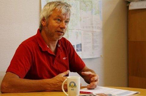 I MØTER: Stein Erik Halck og resten av DFI starter nå med å finne den nye DFI-lederen.