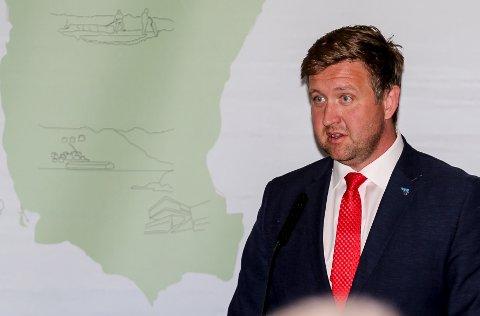Gir seg ei: Nesoddens ordfører Truls Wickholm fortsetter kampen for at Fagerstrand skal utvikles som sørlig sentrum på Nesodden. Foto: Staale Reier Guttormsen