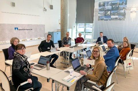 Kriseledelsen: Nesodden kommunes kriseledelse sitter daglig her i Tangenten og organiserer og planlegger hvordan halvøyas utfordringer best kan løses under koronakrisen.