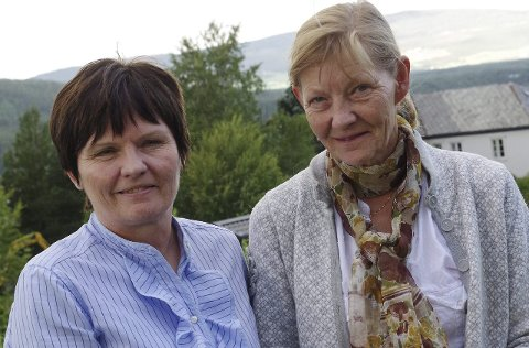 TO: Liv Gjermundshaug Thoresen og Anne Marie Dalen sier at Høyre håper på to kommunestyreplasser.