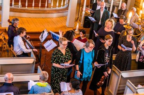 POPULÆRT ARRANGEMENT: «Syng påske» i Kroer kirke.