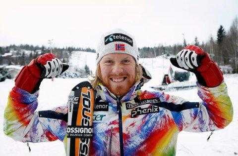 SLÅTT UT: Leif-Kristian Haugen fra Lommedalen var den eneste på det norske laget som vant begge sine dueller. Dermed ble det kun kvartfinale på Haugen og Kilde.