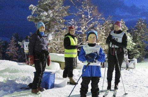 Klar til start: Den populære skikarusellen i Tingvoll starter mandag kveld.Arkiv