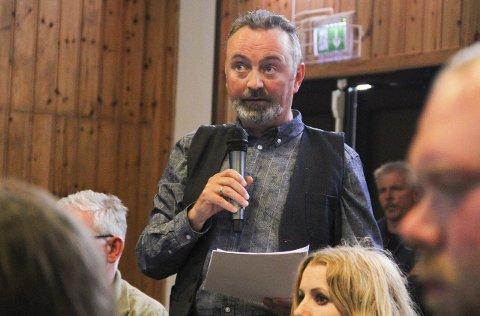 Geir Follesø, leiar i Utdanningsforbundet Austrheim