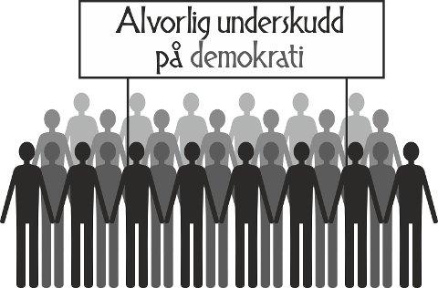 Det er en svært alvorlig tillitskrise mellom lokalpolitikere og dem de er valgt til å representere, nemlig folket