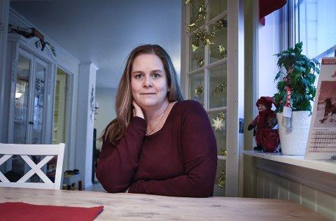 NY HVERDAG: Et uhell på jobben har gitt Anne Lise Kjølberg en annen hverdag. Foto: Siw Nakken