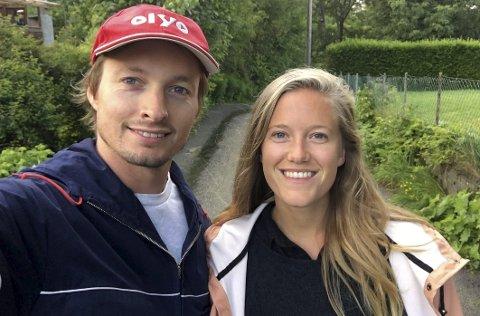 Spente: Henning Holand og Dina Fonn Sætre gleder seg til å flytte fra Oslo til Steigen, selv om Sætre er spent på hvordan det vil bli.