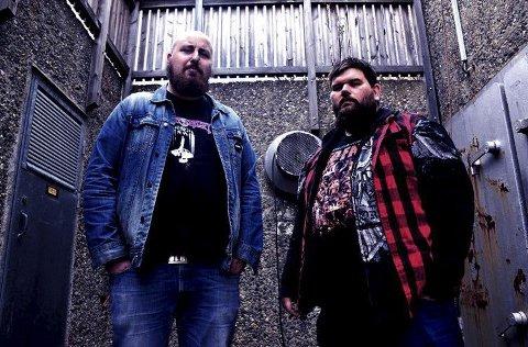 Tøff rock: Fauske-bandet Hellavator med Ørjan Olsen og Helge Simonsen kommer til Mørketidsrock på Nygårdsjøen lørdag 12. januar.