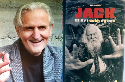 Spennende: - Det er spennende og interessant å se hvordan kulturlivet har vært med på å påvirke kampene for at distriktene skal overleve, sier journalist og forfatter Billy Jacobsen, aktuell med  biografi om Jack Berntsen.