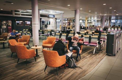 Bodø lufthavn i desember i fjor. Foto: Fotograf Tom Melby