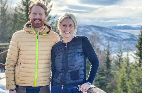 Leif Kristian Nestvold-Haugen (33) og kona Marthe (32) satser stort i Narvikfjellet.