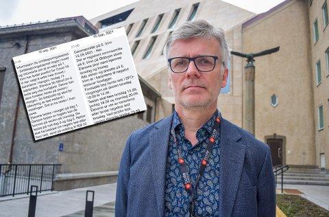 BRUKER IKKE KARANTENE: Barnehage- og skolesjef Tore Tverbakk sier at skolene i kommunen ikke bruker begrepet karantene.