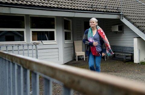 LEDER: Siw Østensen i Orange Helse er prosjektleder for det nye asylmottaket for enslige mindreårige asylsøkere på Flaktveit i Åsane.FOTO: RUNE JOHANSEN