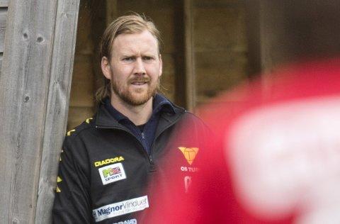 Ørjan Håland har vært Hassan El Fakiris assistent i Os i tre år. Nå tar han over Varegg – divisjonen over Os i 2018.