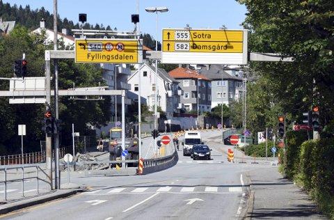 Carls Konows gate skulle åpnet for trafikk i november i år, men vil først åpne i mars 2021.