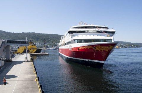 Ikke siden oktober har danskebåten lagt til kai i Bergen. Fra 1. mai er Fjord Line igjen i gang med seilinger fra Vestlandets hovedstad.