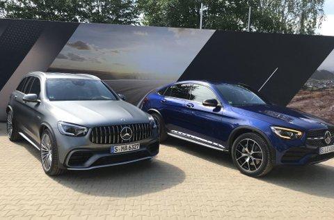"""TO NYE: Både """"vanlig"""" GLC og den mer sporty coupe-utgaven blir ny."""