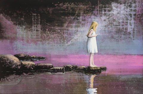 Billedkunst: 11. november kommer maleren Lars Løken med utstillingen «Et minne fra sjøkanten i Åbo» til Galleri Athene.