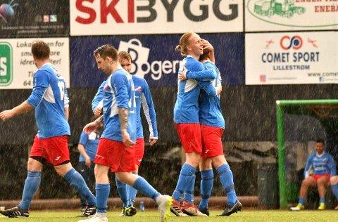 Driv vant hele 8-1 hjemme mot Korsgård i siste seriekamp.