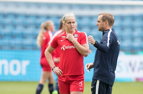 NUMMER 1: Elise Thornes er den store fotballprofilen frå fylket på kvinnesida. Ein stor idrettsutøvar som har skapa problem for forsvarspelarar i Toppserien i fleire år.